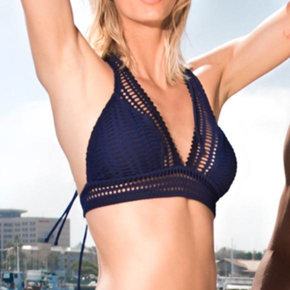Robin Piccone Other - Robin Piccone Sophia Halter Bikini Top